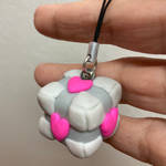 Companion Cube - Portal - Polymer by MikariStar