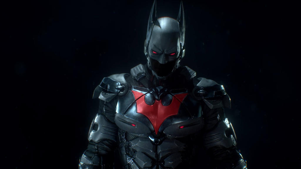 batman beyond in arkham knight the close up by