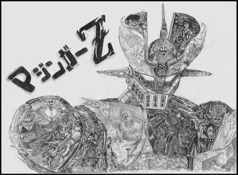 Mazinger Z by loic-drawing