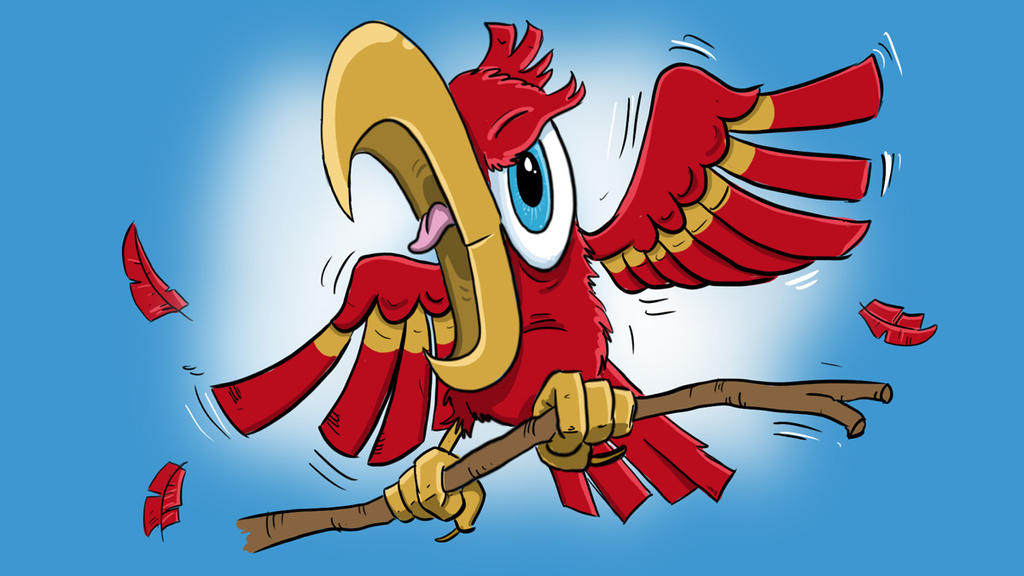 Parrot Cartoon Pictures Parrot Cartoon Character