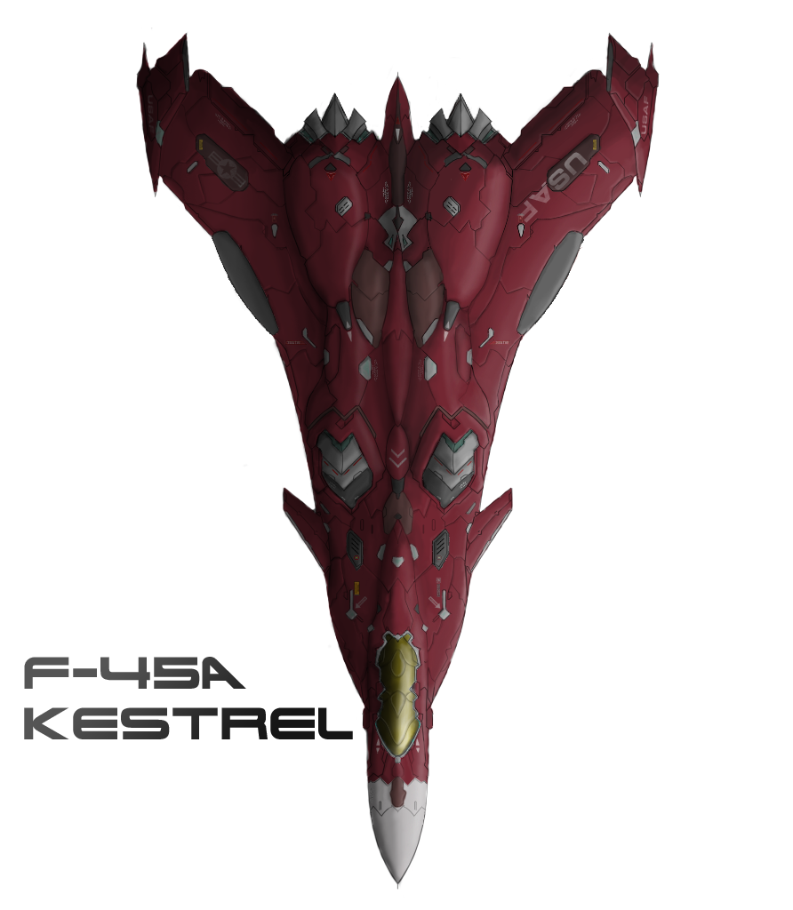 The Red Jet F 45 Recolor By PrinzEugn On DeviantArt