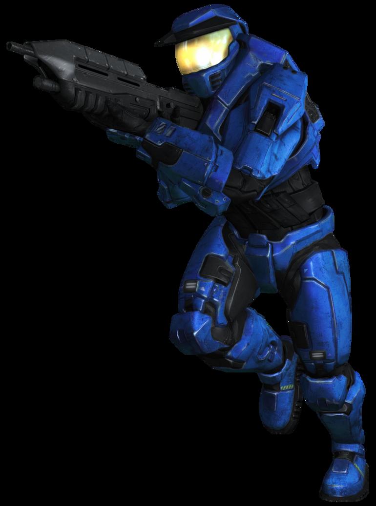 Blue Spartan MCC by PrinzEugn
