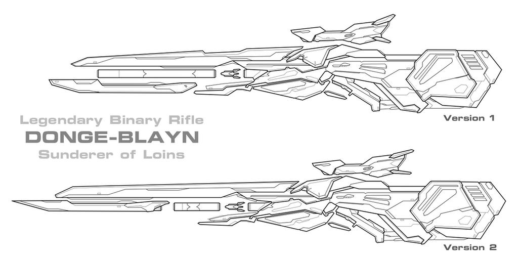 Binary Rifle Redesign by PrinzEugn