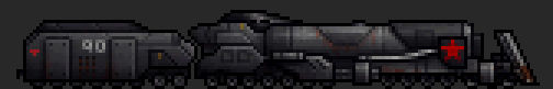 Armored Train Engine