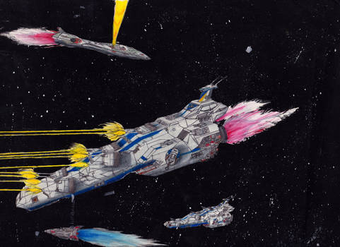 Classic Space Battle: Full Frontal Barrage