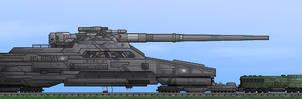 'Gustav' Nuclear Cannon