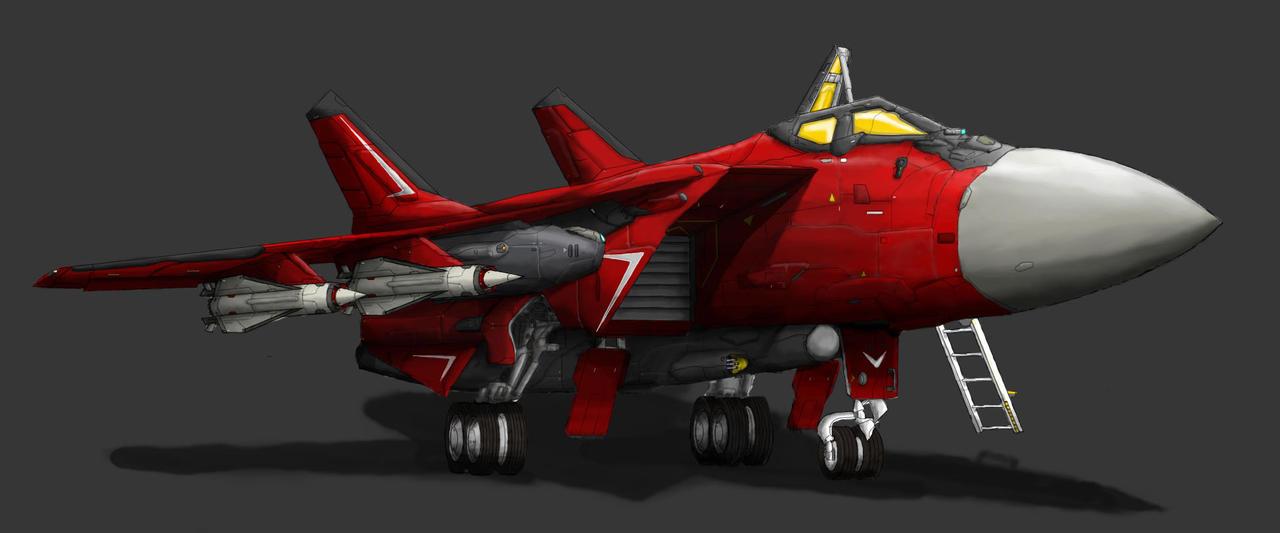 MiG-51S on Ground by PrinzEugn