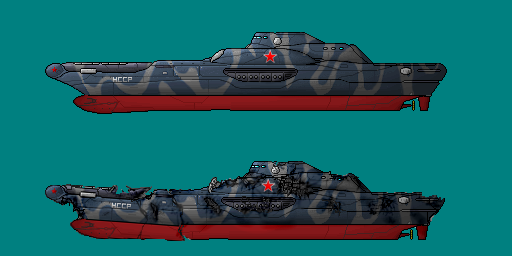 Neo-Soviet Missile Frigate by PrinzEugn