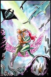 Aquaman, Mera Watercolours