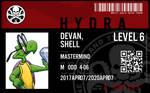 hydra agent devan shell