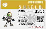 Shield agent clank