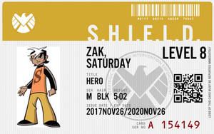 Shield agent zak saturday
