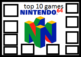 top 10 Nintendo 64 games by connorm1