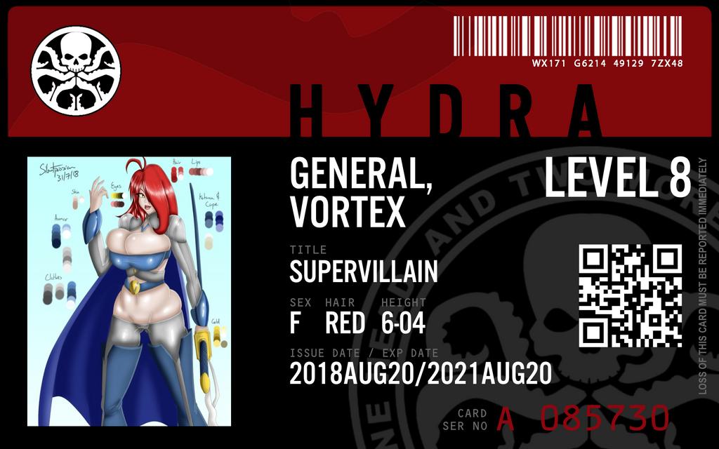 hydra agent General vortex by connorm1