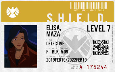 shield agent elisa maza by connorm1