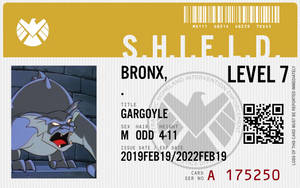 shield agent bronx by connorm1