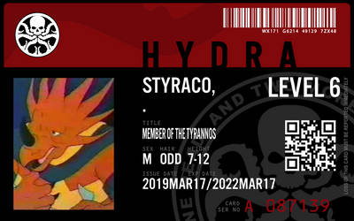 hydra agent styraco by connorm1
