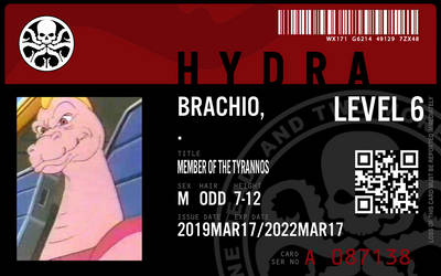 hydra agent brachio by connorm1