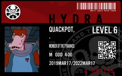 hydra agent quackpot by connorm1