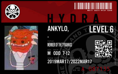 hydra agent ankylo by connorm1