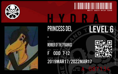 hydra agent princess dei by connorm1