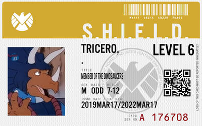 Shield agent tricero by connorm1