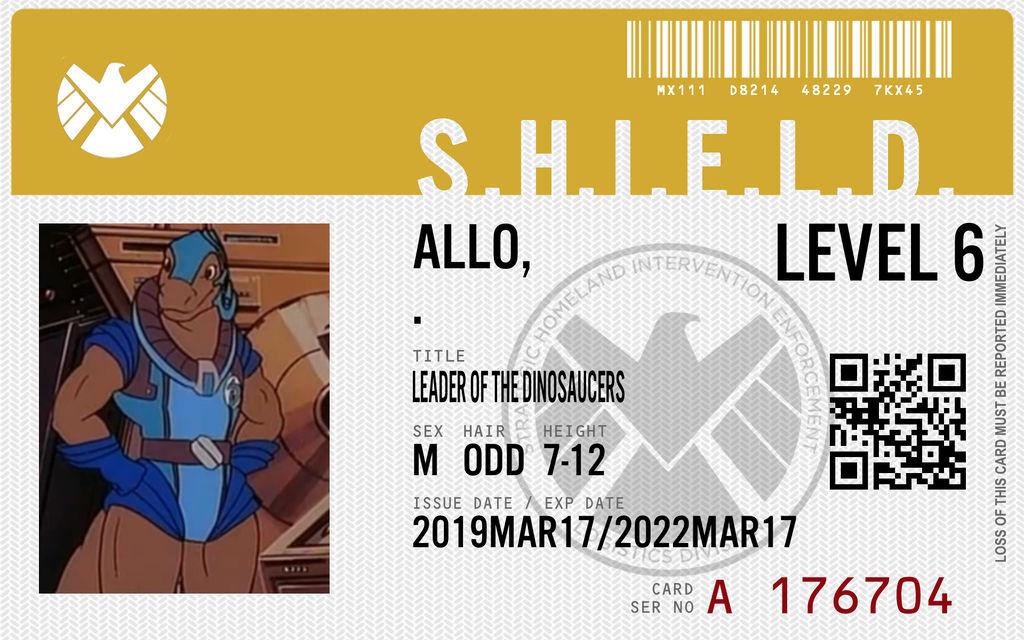 shield agent allo by connorm1