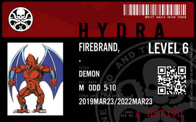 hydra agent firebalrand by connorm1