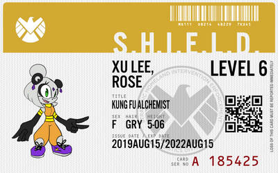 Shield agent Xu lee rose