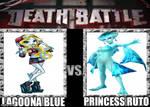 death battle Lagoona blue vs princess ruto