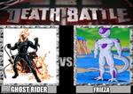 Death battle ghost rider vs frieza
