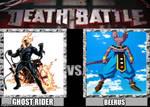 Death battle ghost rider vs beerus