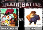Death battle chuck chicken vs kuga
