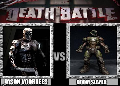 Death battle jason voorhees vs doom slayer