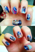 Water marble by CharlotteMosey