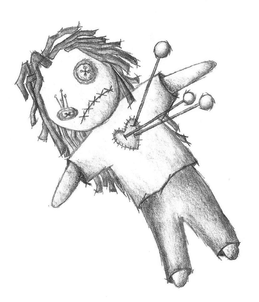 voodoo doll by Ookami-desu on DeviantArt