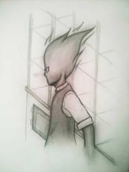 Grillby  by Bluerosethehedgehog