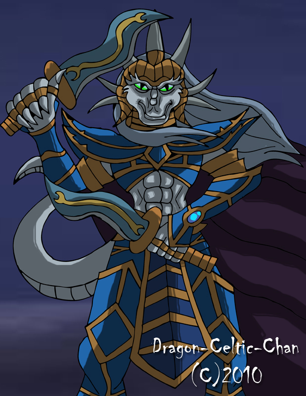 Iflar, the Crown Prince by Dragon-Celtic-Chan