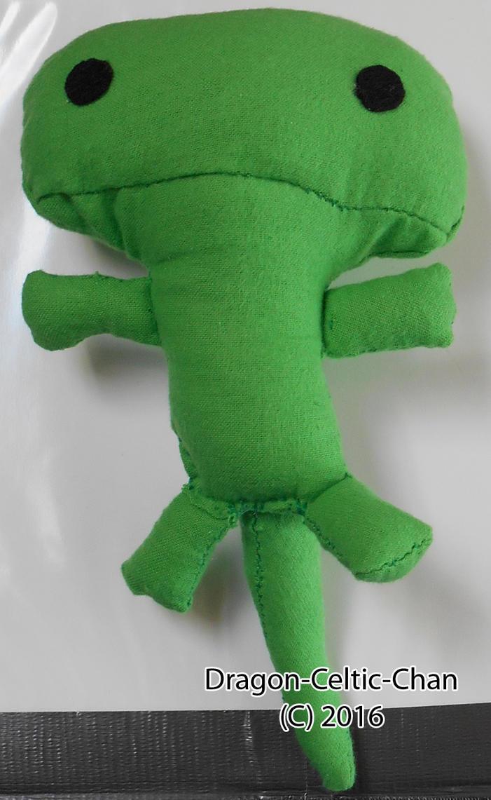 Little Lizard Plushie by Dragon-Celtic-Chan