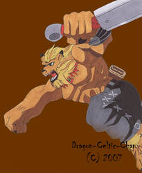 Leomon 2 by Dragon-Celtic-Chan