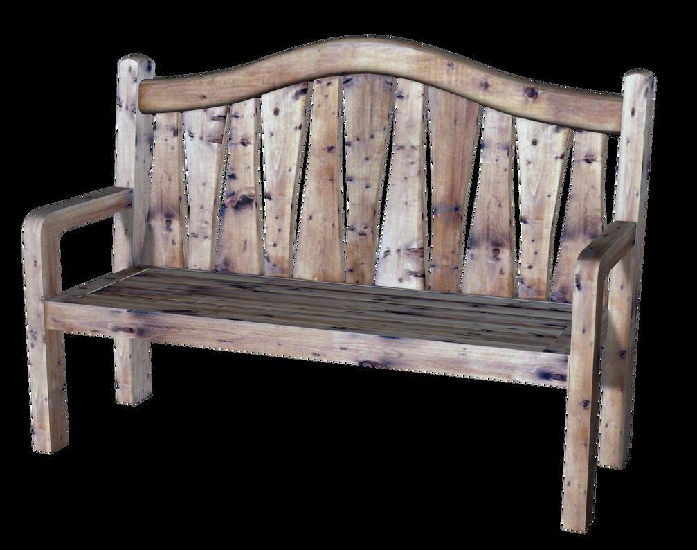 Old wooden bench PNG_KL_Cactuskim by cactuskim on DeviantArt