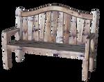 Old wooden bench PNG_KL_Cactuskim