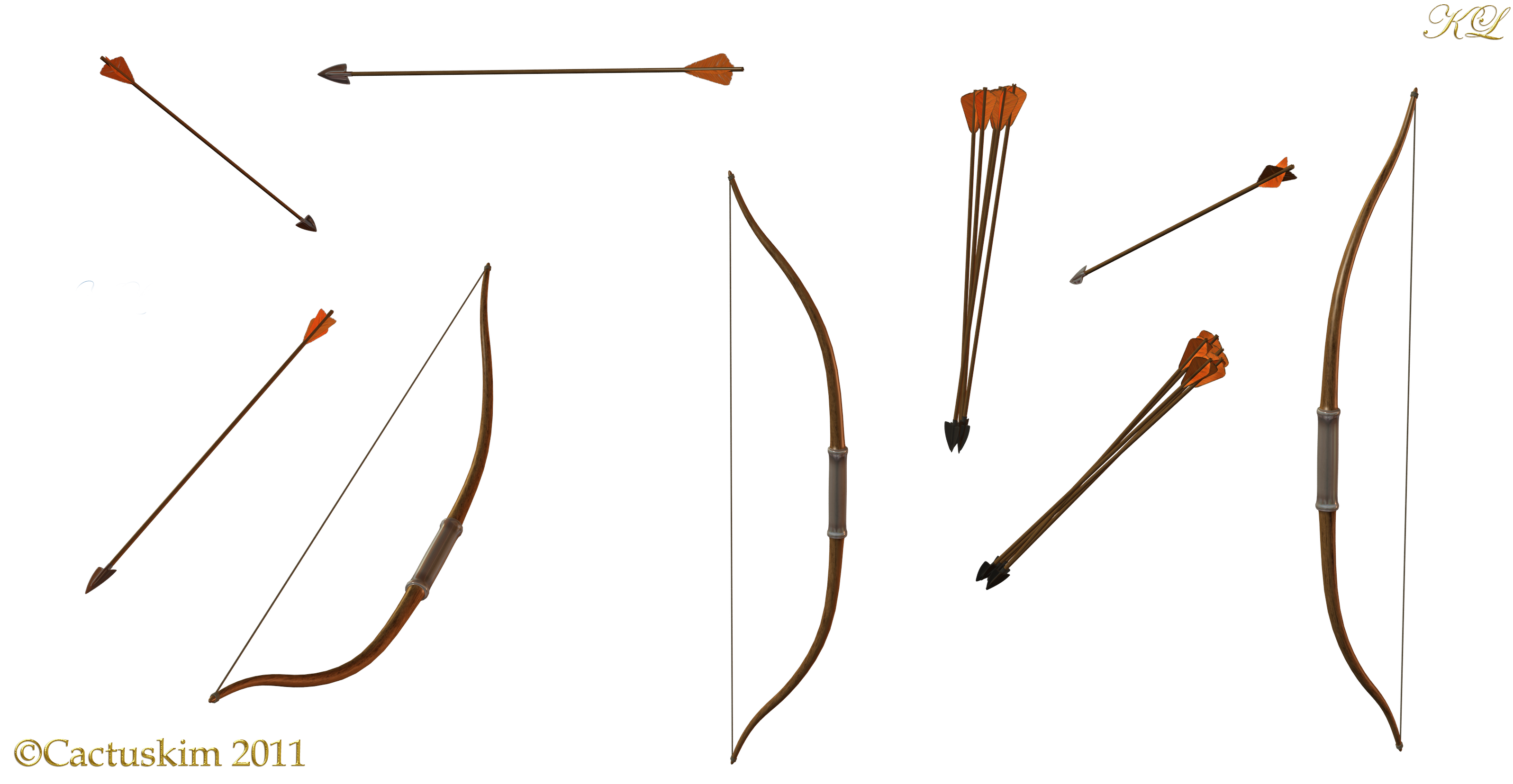 Assorted Bows and Arrows KL