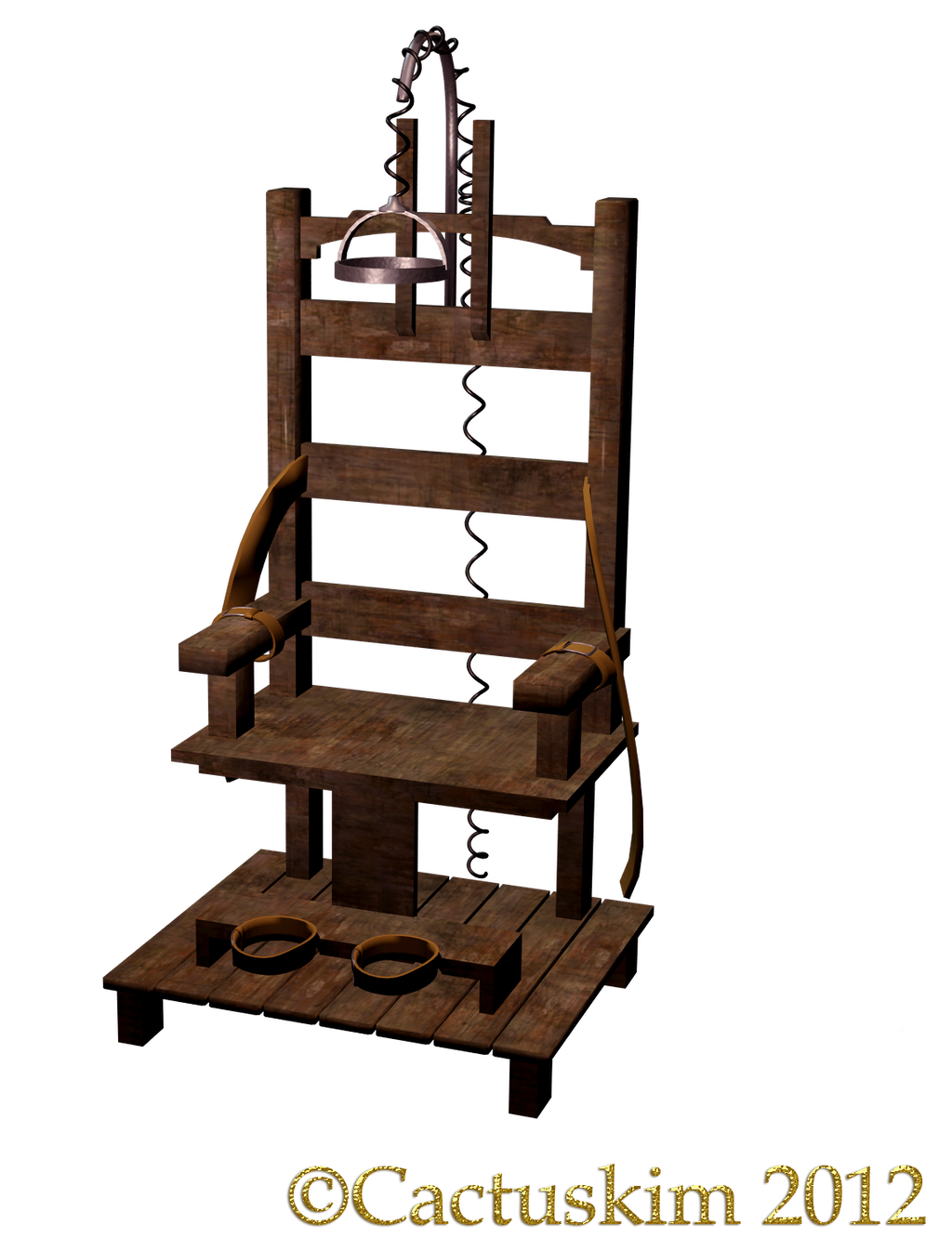 The Chair KL_PNG Electric Chair by cactuskim on DeviantArt