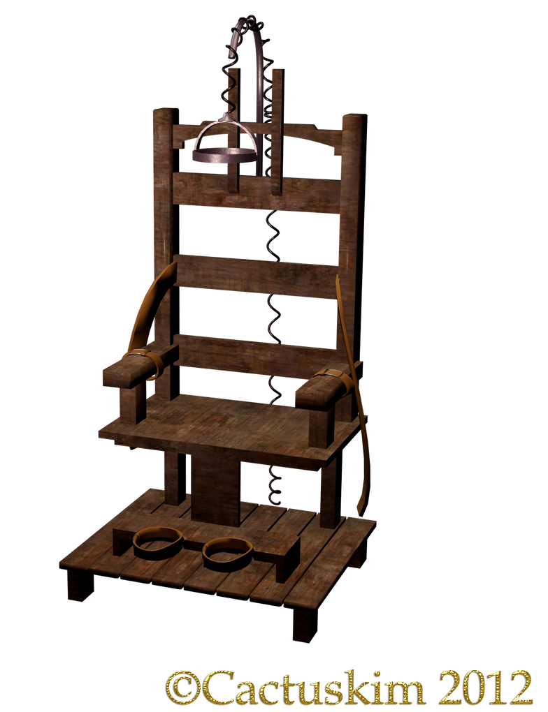 The chair kl png electric chair by cactuskim