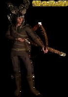 Dear Hunter: PNG Fantasy Figure_KL