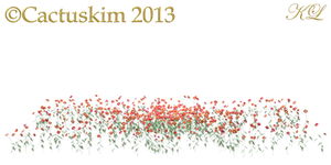 Poppys and wild grass_PNG_KL by cactuskim