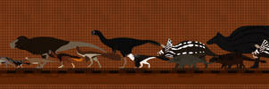 Hell Creek Dinosaurs revised revised revised