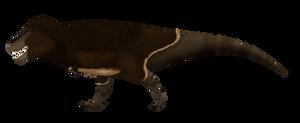 Tyrannosaurus rex detailed (remake of remakes)