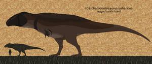 Carcharodontosaurus 9/23/16